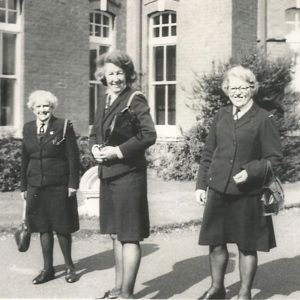Connie Hall, Violet Dobson and Irene Hobson - 1975