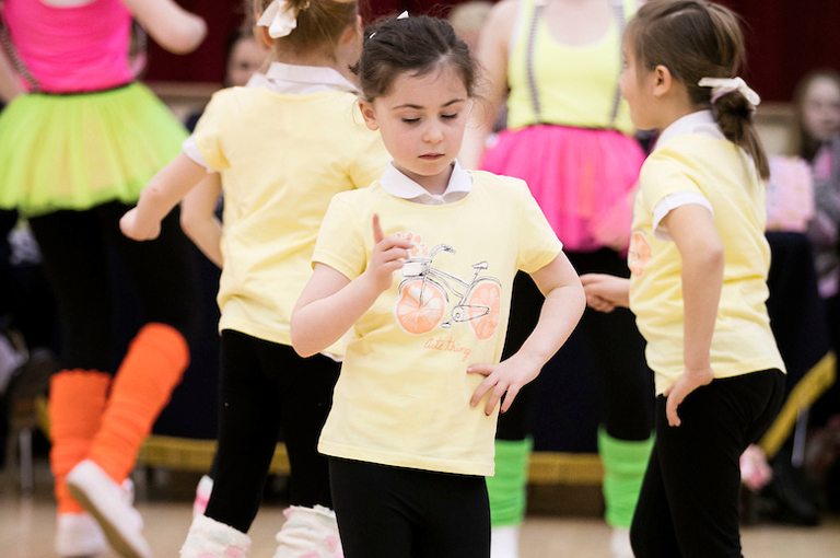 Girls' Brigade Modern Dance